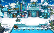 Frozen Party Plaza frozen