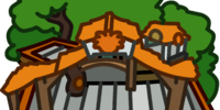 Orange Puffle Tree House