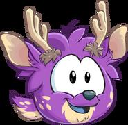 Puffle purple1019 paper