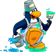 Penguin Style painter 1