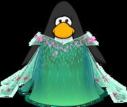 Elsa's Spring Dress on a Player Card