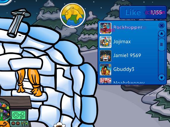 File:Rockhopper liked my igloo.JPG