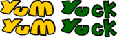 Yum Yum Yuck Yuck Logo