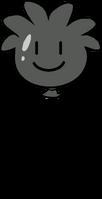 Black Puffle Balloon icon