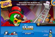 Club Penguin Login Screen