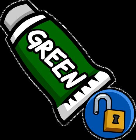 File:Green Face Paint (Unlockable 2).png