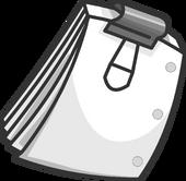 Film Script clothing icon ID 5211