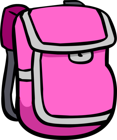 File:Pink Backpack clothing icon ID 314.png