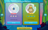 Finding Dory Party interface page 4