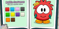 Puffle Costumes Catalog