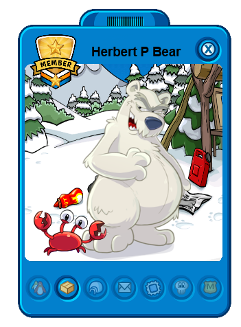 File:Herbert P. Bear's Custom Player Card with klutzy.png