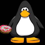 Iced Donut on a Player Card