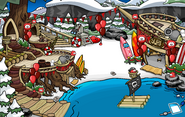 Puffle Party 2012 Cove