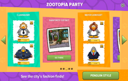 Zootopia Party interface page 3