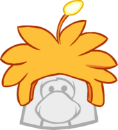 Orange Alien Cap icon