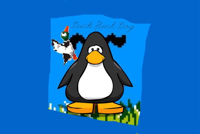 File:Duck Hunt Dog's Quacking Giveaway.jpg