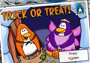 Trick-or-treat-post-card