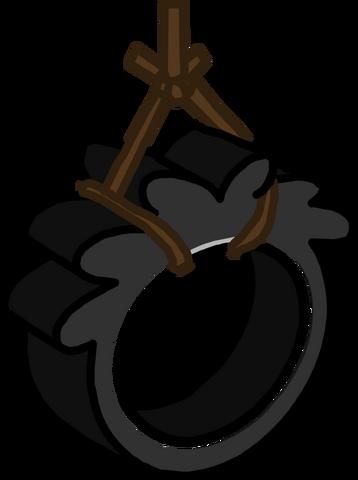 File:Puffle Tireswing furnture icon ID 981.png
