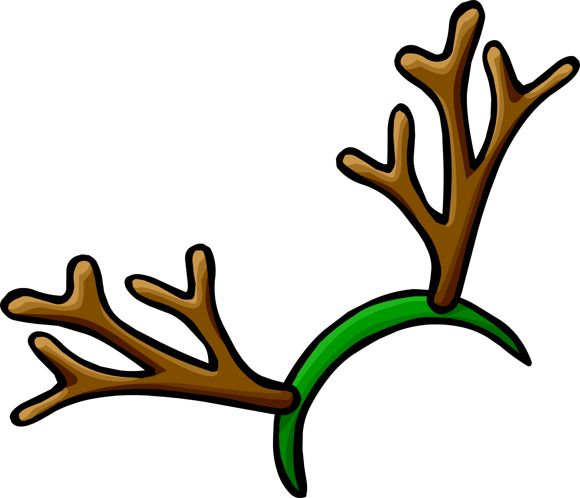 Image - Reindeer Antlers clothing icon ID 471.png | Club Penguin ...