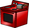 Shiny Red Stove sprite 006