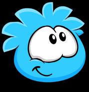 Blue PuffleHappy