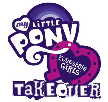 File:Club penguin My little pony equestria girls takeover logo.png