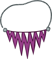Jagged Purple Necklace icon