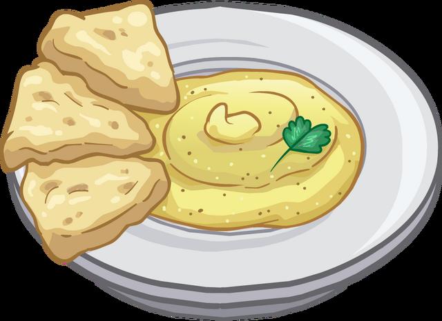 File:Hummus and Pita Puffle Food.png