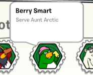 Berry smart stamp book