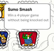 Sumo smash stamp book