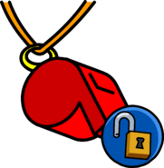 Whistle unlockable icon