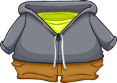 Laid Back Gray Hoodie icon