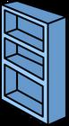 Blue Bookshelf sprite 005
