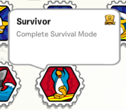 Survivor stamp book