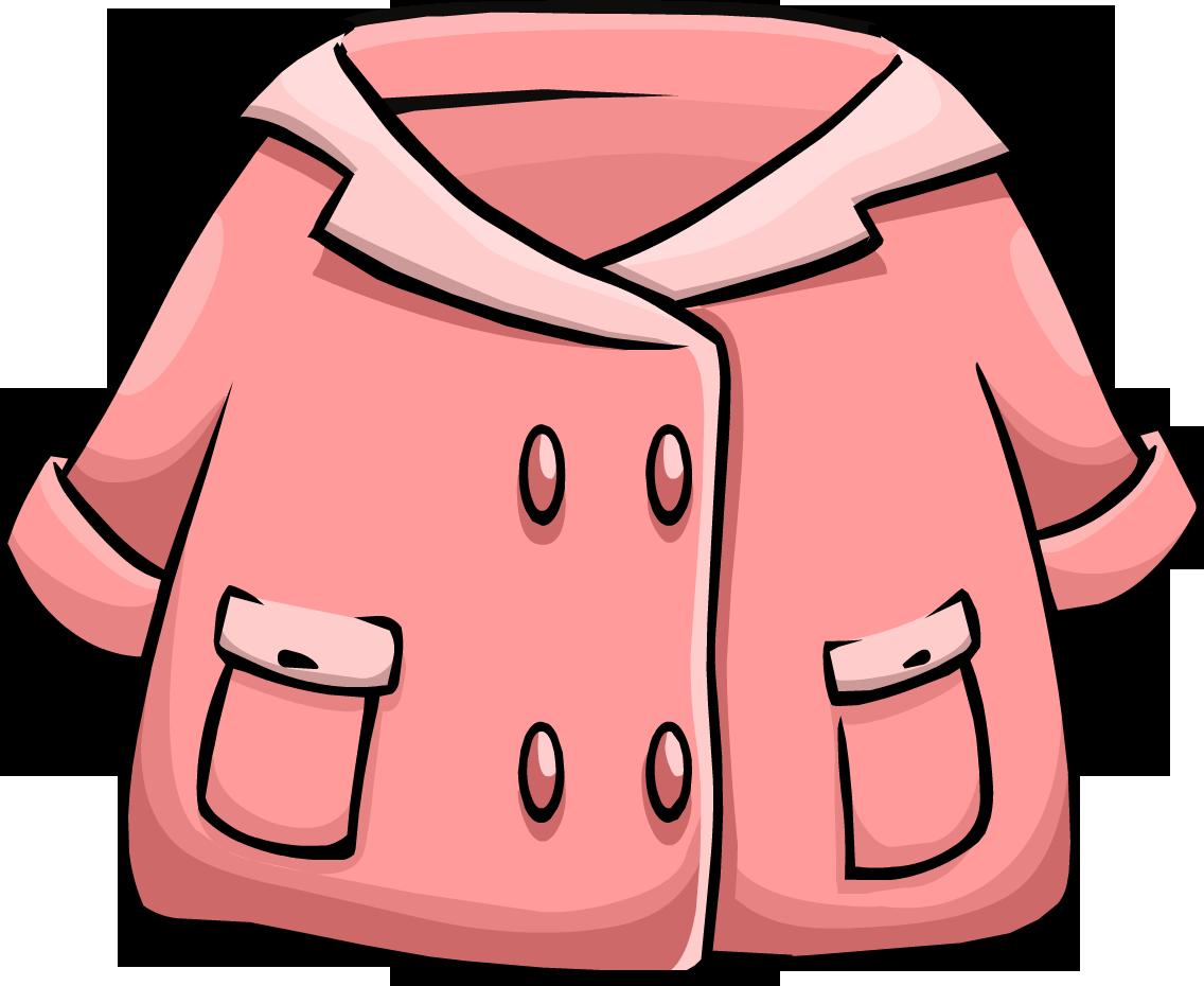 Pink Duffle Coat | Club Penguin Wiki | FANDOM powered by Wikia