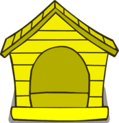 Yellow Puffle House sprite 001
