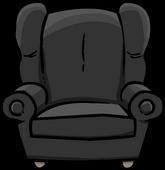 Plush Gray Chair