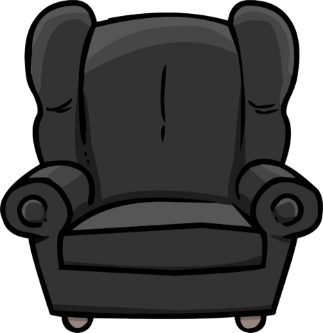 File:Plush Gray Chair.PNG