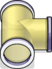 T-joint Puffle Tube sprite 080
