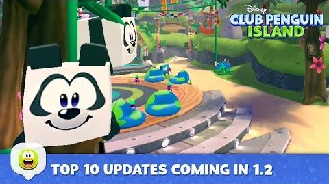 Top 10 Things Coming in Our 1.2 Updates Disney Club Penguin Island