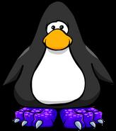 Purple Dragon Feet on Player Card