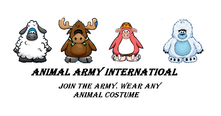 Animal Army Internation Poster