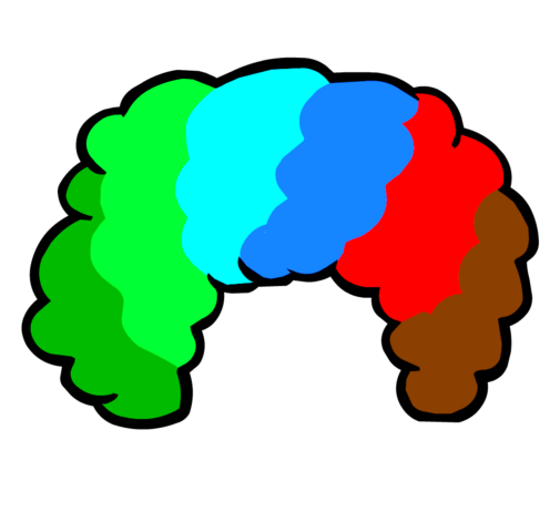 File:Funny Clown Wig.png