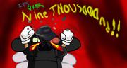 Nine Thousaaaaaaaaand!