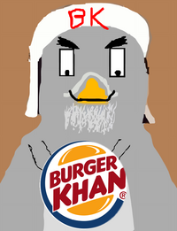 Burger Khan logo