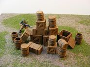 Barrels and Crates Toy Set