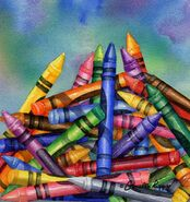 Pile of Crayons