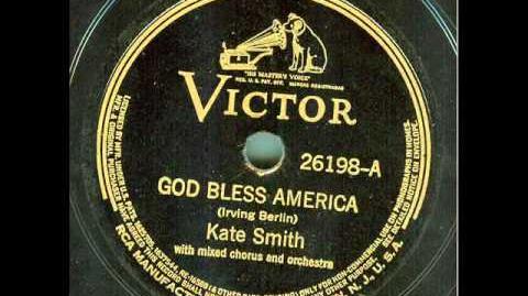 Kate Smith - God Bless America (original 78 rpm)