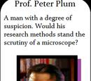 Prof. Peter Plum