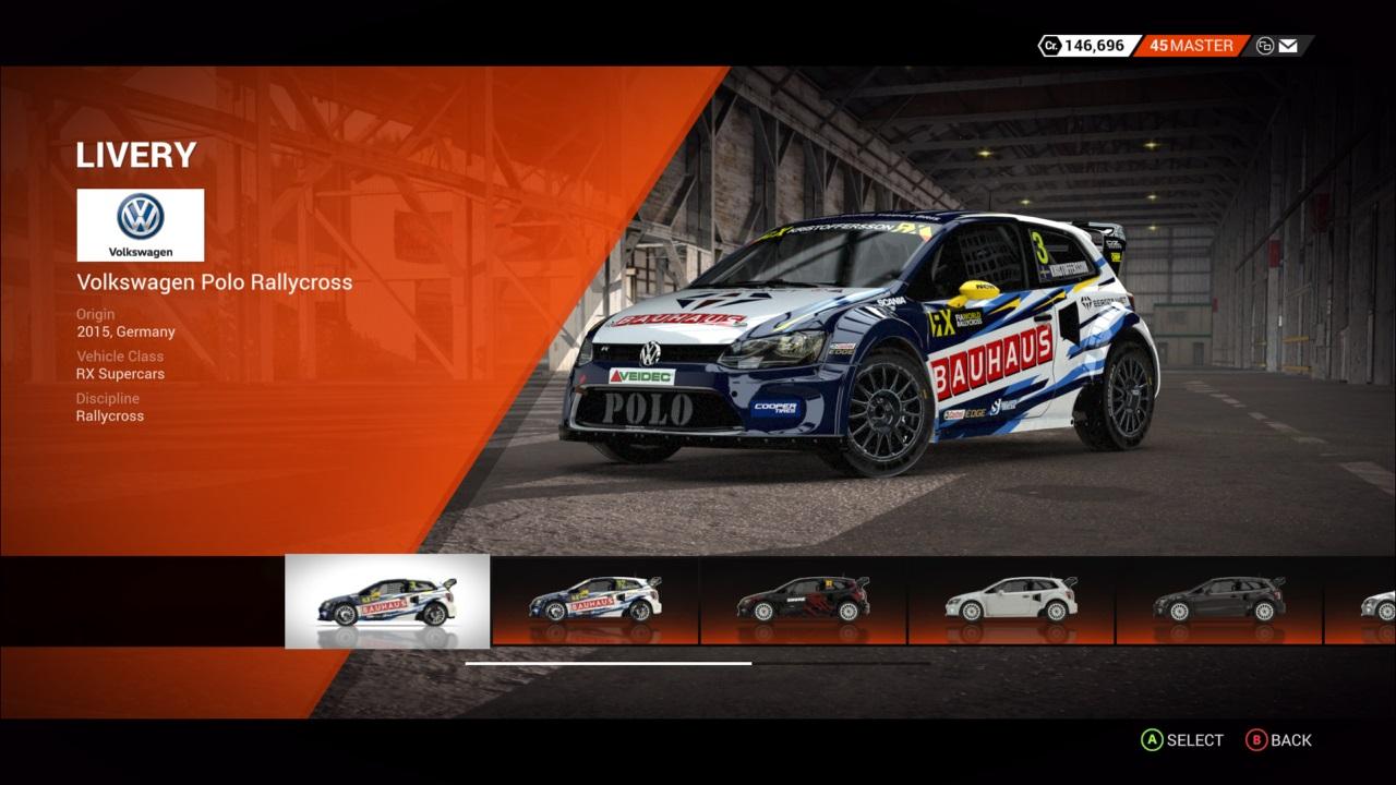 DiRT 4 Volkswagen Polo Rallycross